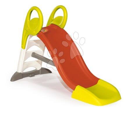 Skluzavky s vodní dráhou - Set skluzavka Toboggan KS Smoby délka 150 cm, vodní dráha v kufříku, přehrada, pumpa od 24 měsíců_1