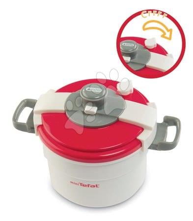Spotřebiče do kuchyňky - Set tlakový hrnec Mini Tefal Smoby ponorný mixér, rychlovarná konvice, malý košík s ovocem_1