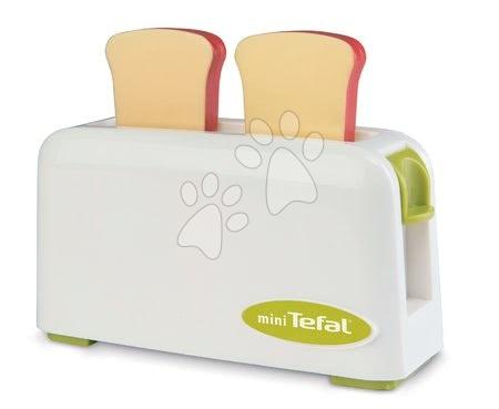 Spotřebiče do kuchyňky - Set toaster Mini Tefal Smoby a ruční mixér, tlakový hrnec, ponorný mixér a potraviny_1