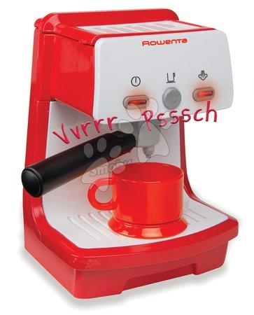 Spotřebiče do kuchyňky - Kávovar Rowenta Expresso Smoby elektronický se zvukem a světlem červený