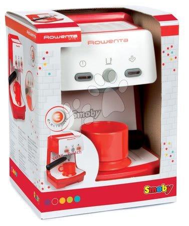 Spotřebiče do kuchyňky - Kávovar Rowenta Expresso Smoby elektronický se zvukem a světlem červený_1