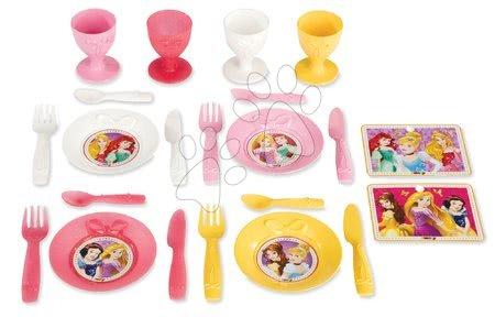 Princese - Set za ručak u kovčegu Disney Princeze Smoby s kolačićima 19 komada_1