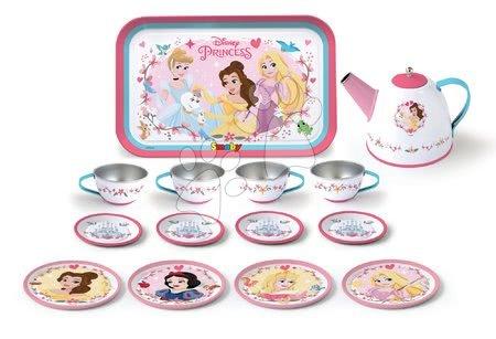 Smoby čajová súprava z plechu Princezné Tin Tea Set 14-dielna 310570