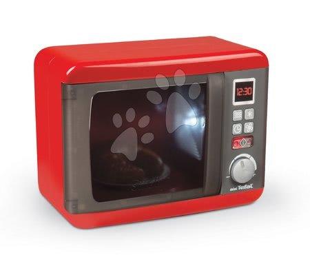 Spotřebiče do kuchyňky - Mikrovlnka elektronická Tefal Elec Micro Wave Smoby se zvukem, světlem a knoflíkem