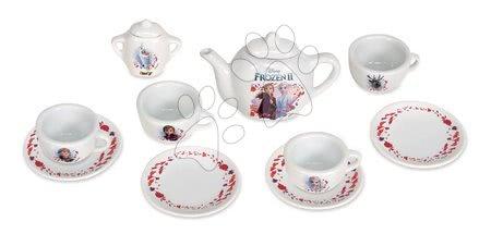 Porcelánová čajová souprava Frozen 2 Disney Smoby 12 dílů