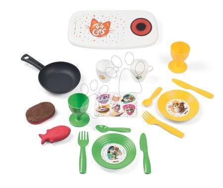 Obyčejné kuchyňky - Kuchyňka v kufříku 44 Cats Smoby se 17 doplňky_1