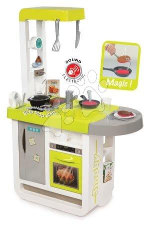 Akce - Set kuchyňka elektronická Cherry Smoby se zvuky, pracovní dílna Auta 3 s otáčecí plochou_1