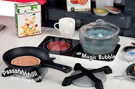 Detské kuchynky - Kuchynka Tefal French Touch Bubble Smoby elektronická s magickým bublaním a palacinkami 46 doplnkov_1
