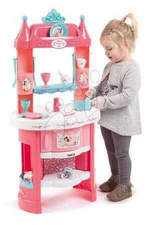 Princese - Kuhinja s tornjevima Princeze Smoby obostrana, 19 dodataka