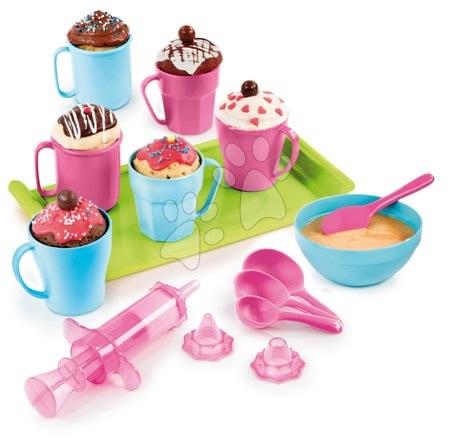 Detská cukráreň - Hravá kuchárka Chef Smoby Cup Cake v hrnčekoch s receptami a formami na pečenie od 5 rokov