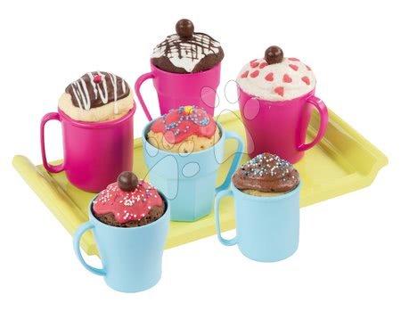 Detská cukráreň - Hravá kuchárka Chef Smoby Cup Cake v hrnčekoch s receptami a formami na pečenie od 5 rokov_1