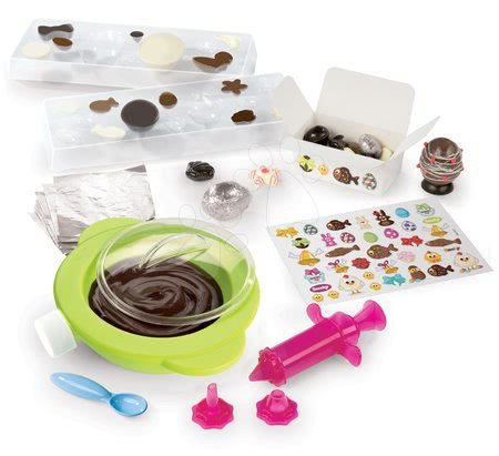 Bucătăreasa jucăușă Ouă de Paşte Chef Smoby reţete şi forme pentru prepararea ouălor din ciocolată de la 5 ani