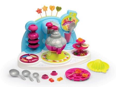 Hračky pre deti od 3 do 6 rokov - Hravá kuchárka pre deti Chef Cukrovinky Smoby recepty a formy na výrobu cukríkov a lízatok od 5 rokov