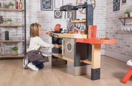 Játékkonyhák - Étterem elektronikus konyhával Chef Corner Restaurant Smoby paddal_1