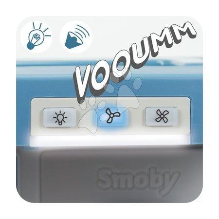 Detské kuchynky - Kuchynka na cesty Cook&Go Blue Smoby skladacia elektronická so zvukom a svetlom a 17 doplnkov_1