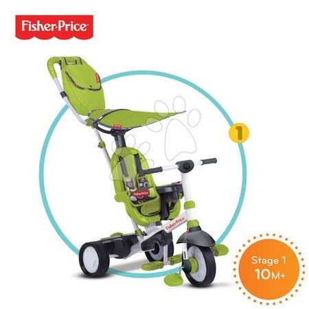 Tříkolka Fisher-Price Charisma Touch Steering smarTrike 10 měsíců zelená