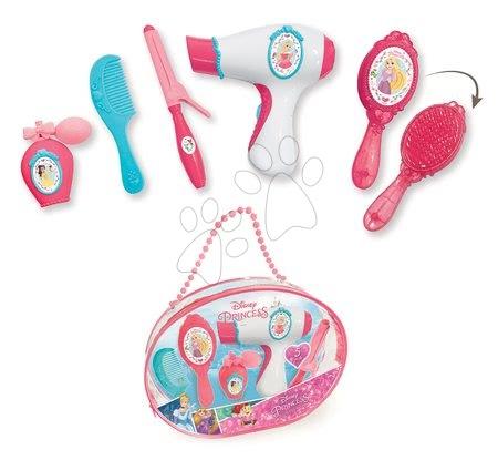 Hry na profesie - Kozmetická taštička Princezné Smoby s elektronickým sušičom na vlasy