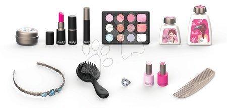 Detský kozmetický stolík - Kozmetický kufrík My Beauty Vanity 3in1 Smoby kaderníctvo a kozmetika s nechtovým štúdiom s 13 doplnkami_1