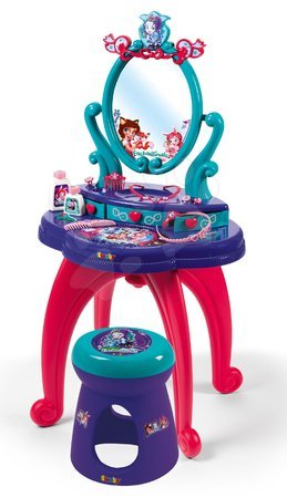 Enchantimals - Pipere asztal Enchantimals 2in1 Smoby kisszékkel és 10 kiegészítővel