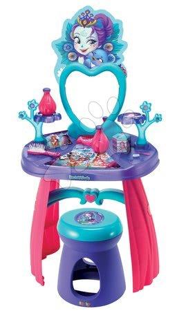 Măsuță de machiaj Enchantimals Smoby cu scăunel şi 10 accesorii
