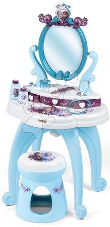 Măsuță cosmetică Frozen 2 Disney 2în Smoby cu scăunel și 10 accesorii