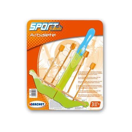 Športové hry pre deti - Kuša Smoby so šípkami dĺžka 34 cm