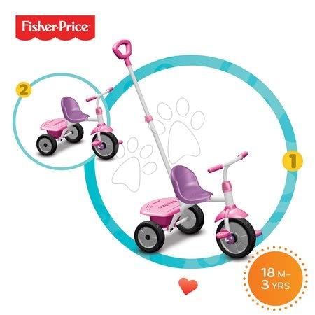Tricikel Fisher-Price Glee smarTrike vijolično-rožnat od 18 mes