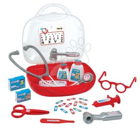 Medicinska kolica za djecu - Medicinski kovčeg Smoby i 13 dodataka