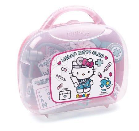 Medicinska kolica za djecu - Medicinski kovčeg Hello Kitty Smoby s 26 dodataka_1