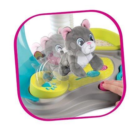 Medicinska kolica za djecu - Kućica za mačku Cat's House Veterinary Smoby elektronička sa zvukovima i tobogan s ljuljačkom te 6 dodataka_1
