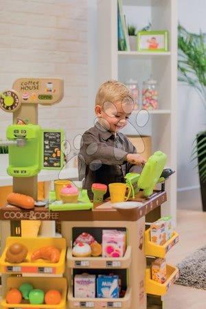Kuchynky pre deti sety - Set reštaurácia s elektronickou kuchynkou Chef Corner Restaurant Smoby s kútikom kaviarňou so stoličkami_1