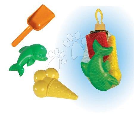 Modelčki za pesek - Modelčki z lopatko Dohány 3 deli od 24 mes