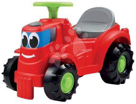 Bébitaxi Traktor Écoiffier tárolóhellyel piros 12 hó-tól