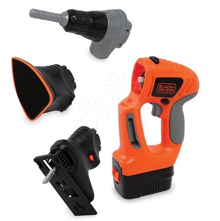Oprema in orodje - Delovno orodje Black & Decker Smoby 3 druhy - motorna žaga, rezalnik in vrtalnik_1