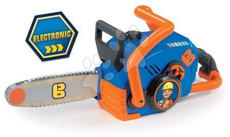 Smoby detská motorová píla elektronická Staviteľ Bob 360133