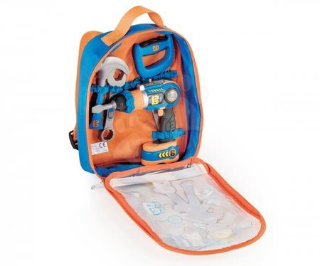 Oprema in orodje - Delovno orodje v torbi Mojster Miha Smoby z mehanskim vrtalnikom_1