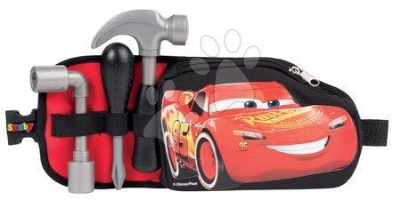 Oprema in orodje - Pas Avtomobili 3 Smoby z orodjem in žepkom na zadrgo