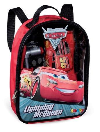 Oprema in orodje - Nahrbtnik z orodjem Avtomobili 3 Smoby in sestavljiv avtomobilček McQueen