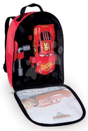 Oprema in orodje - Nahrbtnik z orodjem Avtomobili 3 Smoby in sestavljiv avtomobilček McQueen_1