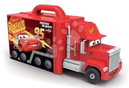 Cars - Set kamion s autíčkem Cars 3 Mack Truck Smoby elektronický a trenažér V8 Driver elektronický_1
