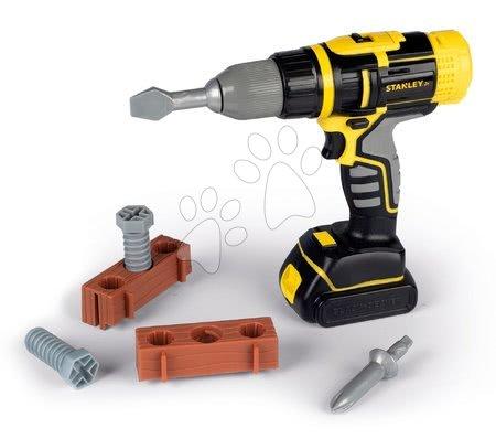 Oprema in orodje - Mehanski vrtalnik Stanley Smoby z dvema nastavki in dodatki