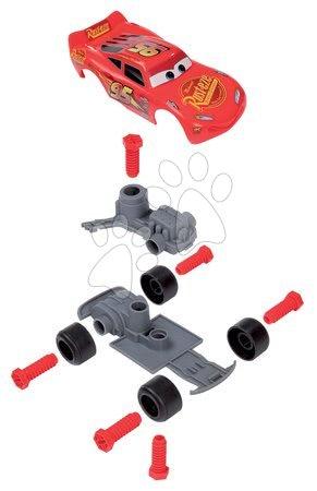 Oprema in orodje - Kovček z orodjem in sestavljivim avtomobilčkom Cars 3 Customiz' Smoby z nadomestnimi deli 4 cm_1