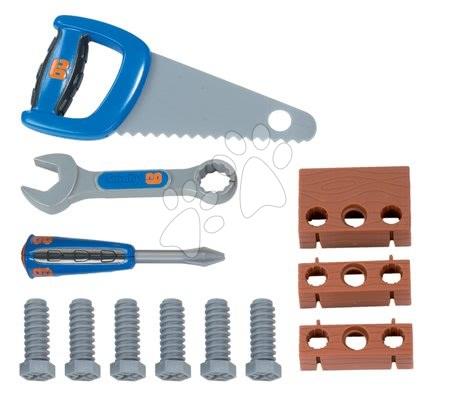Oprema in orodje - Kovček z delovnim orodjem Bob the builder Smoby z 12 dodatki moder_1
