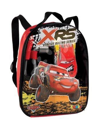 Batoh s autem Flash McQueen Cars XRS Smoby a pracovním nářadím