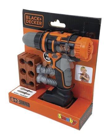 Oprema in orodje - Mehanski vrtalnik z nastavki Black&Decker Smoby in 6 dodatki_1
