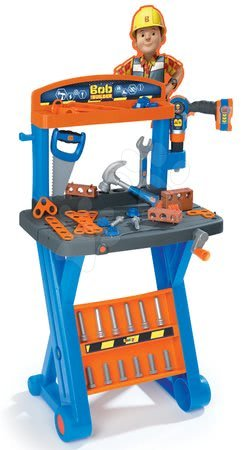 Pracovní dětská dílna - Pracovní dílna Bořek stavitel Smoby s X konstrukcí