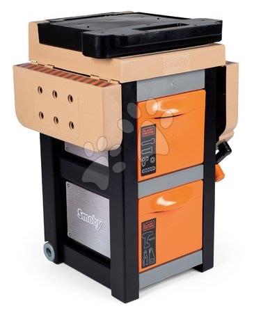 Pracovní dětská dílna - Pracovní stůl Black&Decker Open Bricolo Workbench Smoby skládací s 37 doplňky_1