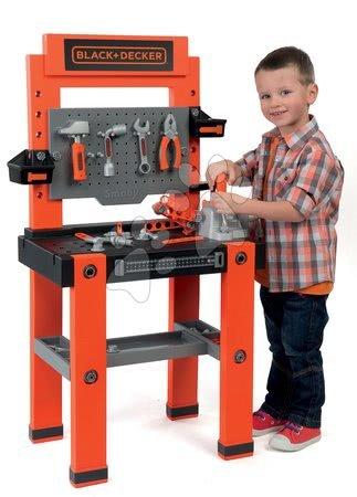 Pracovní dětská dílna - Pracovní dílna Black&Decker Smoby se 79 doplňky