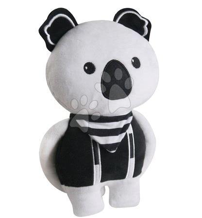 Bábiky pre dievčatá - Textilná bábika Koala Bamboo toTs-smarTrike Black&White od 0 mes_1