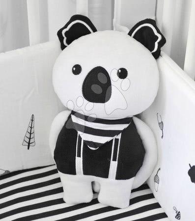 Bábiky pre dievčatá - Textilná bábika Koala Bamboo toTs-smarTrike Black&White od 0 mes